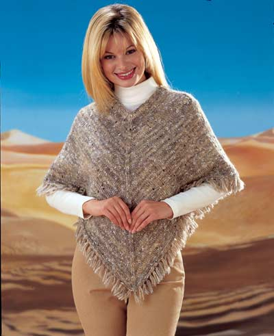 Sweater And Poncho Knitting Pattern. Buy instantly online £1.95