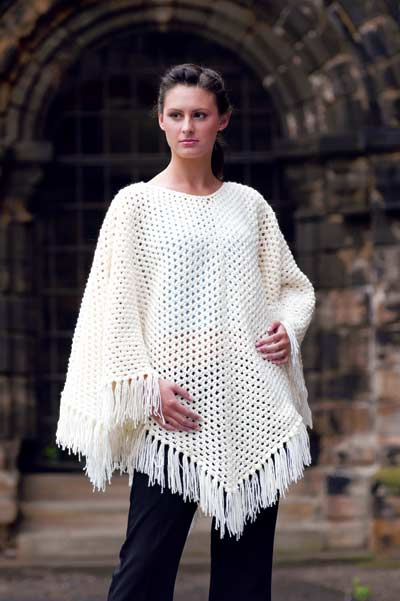 Free Pattern To Crochet A Poncho : PONCHO PATTERN KNIT CROCHET ? Easy Crochet Patterns