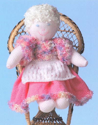 Rag Doll Knitting Pattern Buy Instantly Online 195