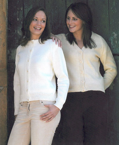 e6cce09ab V Neck And Round Neck Cardigans - (Reference  5098). Pattern Reference  5098