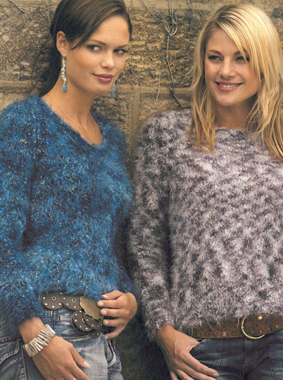 00a2e8bdd Round And V Neck Sweaters Knitting Pattern. Buy instantly online £1.95
