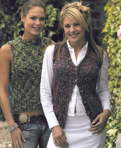 Ladies Slipovers And Waistcoats Knitting Pattern Buy Instantly