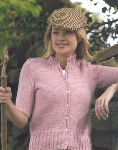 Free Knitting Pattern Short Jacket : KNITTING PATTERNS SHORT JACKET FREE PATTERNS