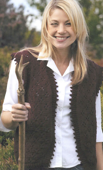Knitting Patterns Ladies Waistcoats : Waistcoat Knitting Pattern. Buy instantly online ?1.95