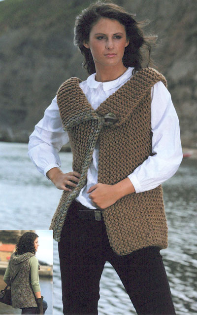 Sleeveless Jacket Knitting Pattern Buy Instantly Online 195