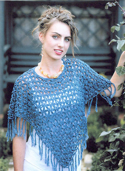 Crochet Poncho Pattern List - Yarn Methods: Knitting, Crochet
