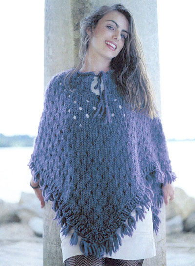 5 Favorite Free Shawl and Poncho Knitting Patterns | FaveCrafts.com